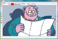 Screenshot vom Programm: Abpausen und Vektorisieren
