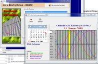 Screenshot vom Programm: CK's Biorhythmus
