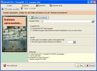 Screenshot vom Programm: DXF 2 SimpleDXF