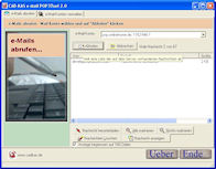 Screenshot vom Programm: e-Mail POP3Tool