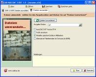 Screenshot vom Programm: EMF 2 DXF