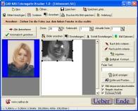 Screenshot vom Programm: Fotonegativ-Drucker