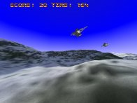Screenshot vom Programm: Jet Jagd 3D