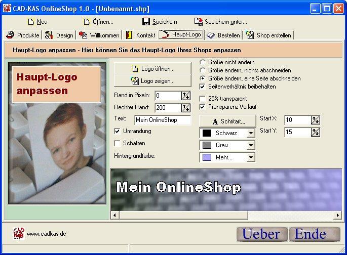 Onlineshop Erstellen Mit Der Onlineshop Software Von Cad Kas