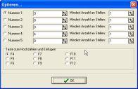 Screenshot vom Programm: Nummerierer