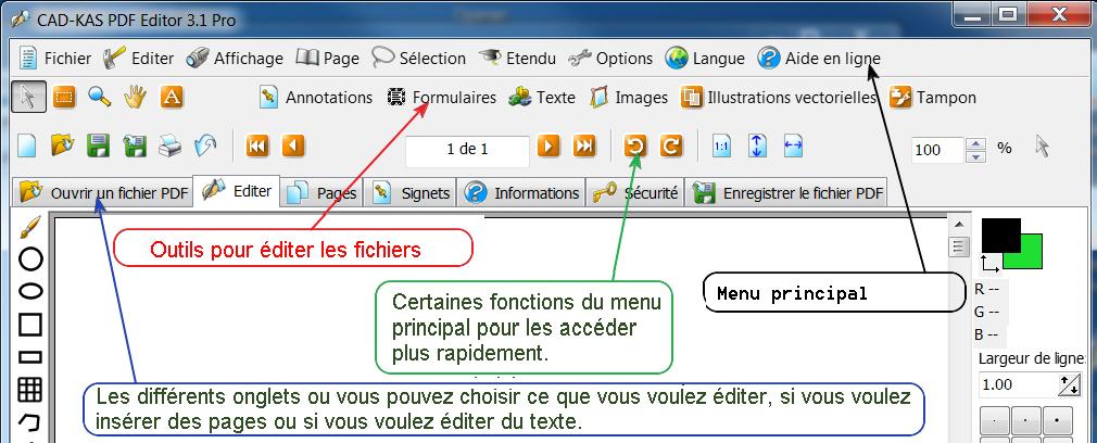 CAD-KAS PDF Editor Pro