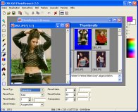 A screenshot of the program PhotoRetouch 2.0 - All-round photo editor