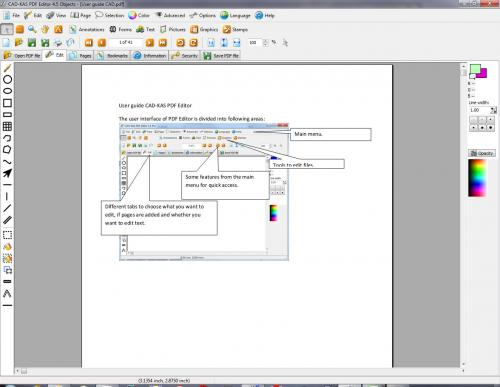 PDF Editor screenshot