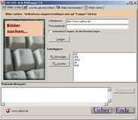 Screenshot vom Programm: Web BildSauger