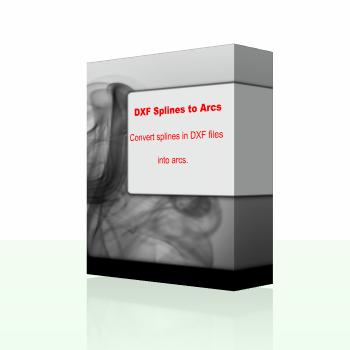 DXF Splines to Arcs 1 0