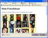 Web PhotoAlbum 1.0