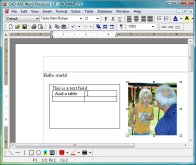 Click to view CAD-KAS Word Processor 1.0 screenshot